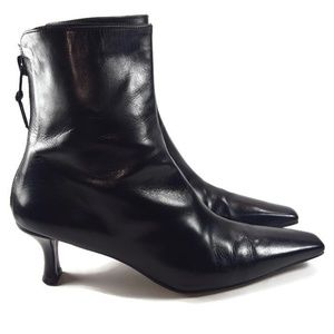 Stuart Weitzman | Leather Ankle Boots